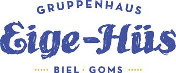Eige-Hüs | Gruppenhaus | Biel – Goms | Wallis Logo