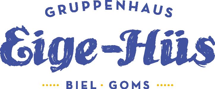 Eige-Hüs | Gruppenhaus | Biel – Goms | Wallis Retina Logo
